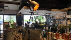 Industriele Staande Lamp brons/grijs Woonaccessoires countryfield