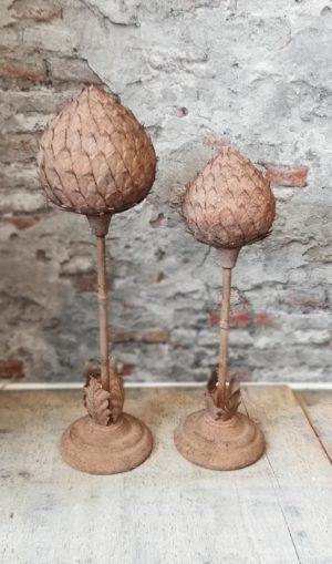 Ornament Artisjok/Roest/L Woonaccessoires countryfield
