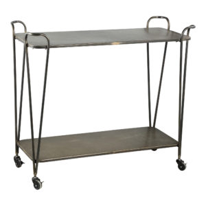 Thee trolley Chaves Black Iron Woonaccessoires PTMD