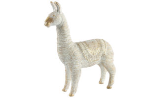 Alpaca L Wit/Goud Woonaccessoires countryfield