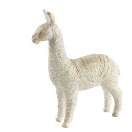 Alpaca M Wit/Goud Woonaccessoires countryfield