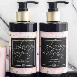 Luxury Spa Soap Carnation & Clove ZBH Collection