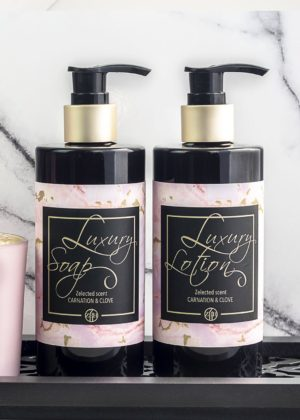 Luxury Spa Lotion Carnation & Clove ZBH Collection