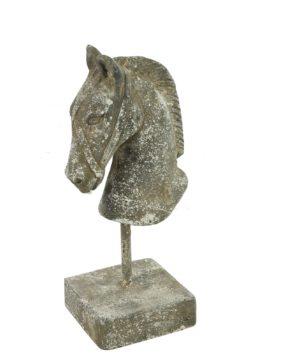 Paardenhoofd Incus S Grijs Woonaccessoires countryfield