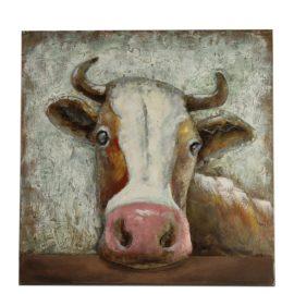 Schilderij Koe S Woonaccessoires countryfield