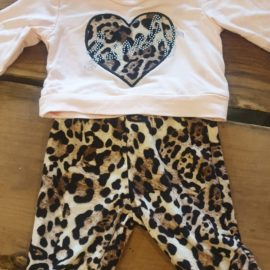 Baby Panterpakje Hart Maat 74 Baby