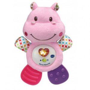 Vtech Bijtring Nijlpaardje Roze Vtech