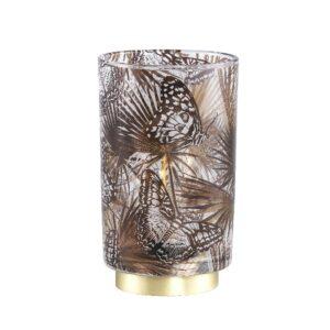Jennifer Gold Led Lamp Vlinder Print M Woonaccessoires PTMD