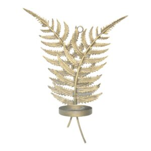 Tinley Iron Gold Wall Canlde Holder Woonaccessoires PTMD