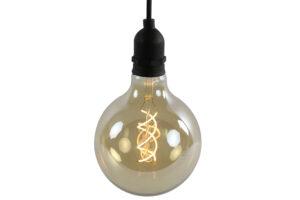 Hanglamp Led Met Timer Zwart Woonaccessoires countryfield