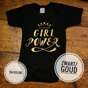 Romper Girl Power maat 62 Baby