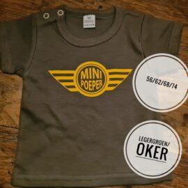 T shirt Mini Pooper maat 74 Baby