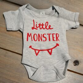 Romper Little Monster maat 56 Kleding