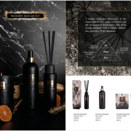 PTMD Elements Fragrance Geurstokjes Woody Bouquet Woonaccessoires PTMD