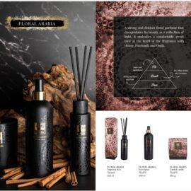 PTMD Elements Fragrance Kaars Floral Arabia Woonaccessoires PTMD