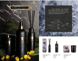 PTMD Elements Fragrance Huisspray Expressive Violet Woonaccessoires PTMD