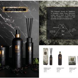 PTMD Elements Fragrance Kaars Imperial Leaves Woonaccessoires PTMD