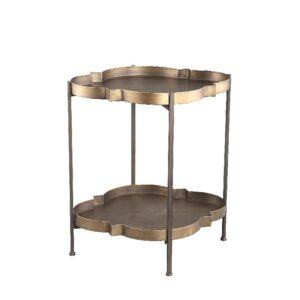 Lecia Gold Sidetable Woonaccessoires PTMD