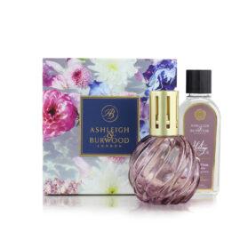 Giftset Velvet Plum & Cassis Heritage Geurlamp Ashleigh & Burwood